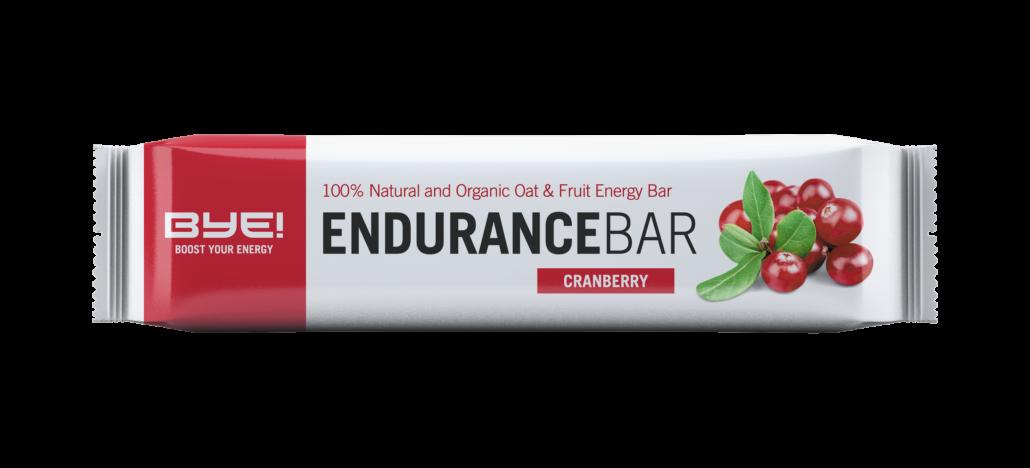 BYE! Endurance Bar Cranberry