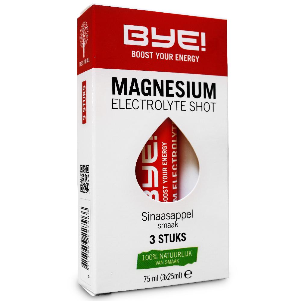 BYE! Magnesium electrolyte shot